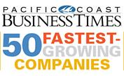 Pacific Coast Business Times: 50 Fastest-Growing Companies