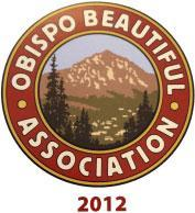 Obispo Beautiful Association's Award of Recognition