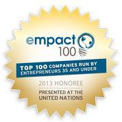 Empact 100 – Top 100 Young Entrepreneurs in the US 2013