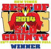 New Times Best of SLO County 2014: Best Moving Company