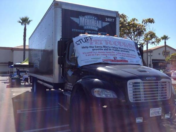 Truck at STUFF the Pet Food Pantry Event