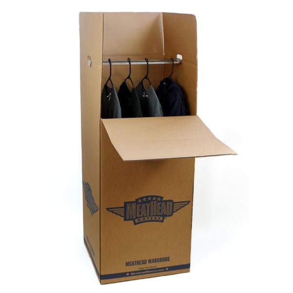 moving supplies wardrobe bar