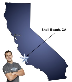 If you're moving to Shell Beach, be sure to enjoy a day at the beach.